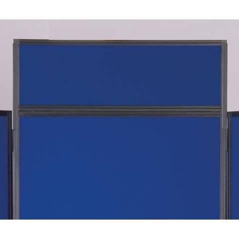 Clip on Header Panel - Blue