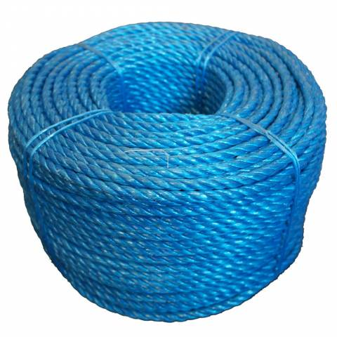 Polypropylene Blue 10mm Rope x 220m Coil