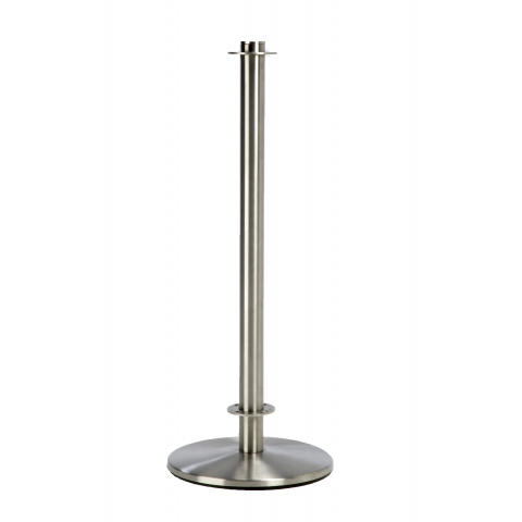 Extra-Heavy Brushed Stainless Steel Post