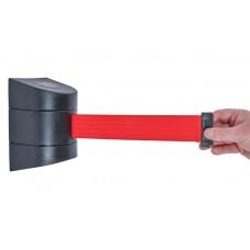 Tensabarrier 4.6m Wall Mounted Unit Red Webbing