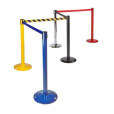 Tensabarrier Freestanding Barrier Post 2.3m Webbing